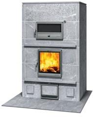 Poêle chauffage central à bois