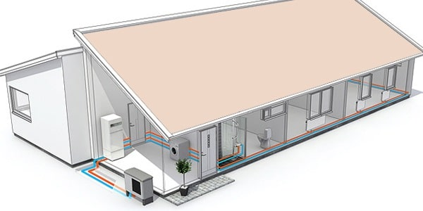 pompe chaleur air eau fonctionnement avantages et prix. Black Bedroom Furniture Sets. Home Design Ideas