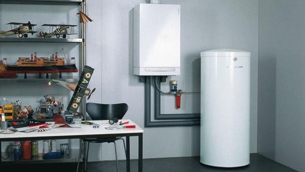 Chaudière eau chaude-chauffage Viessman avec condensation