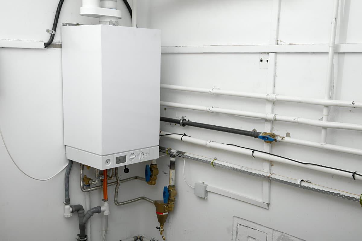 chaudière à condensation au gaz naturel