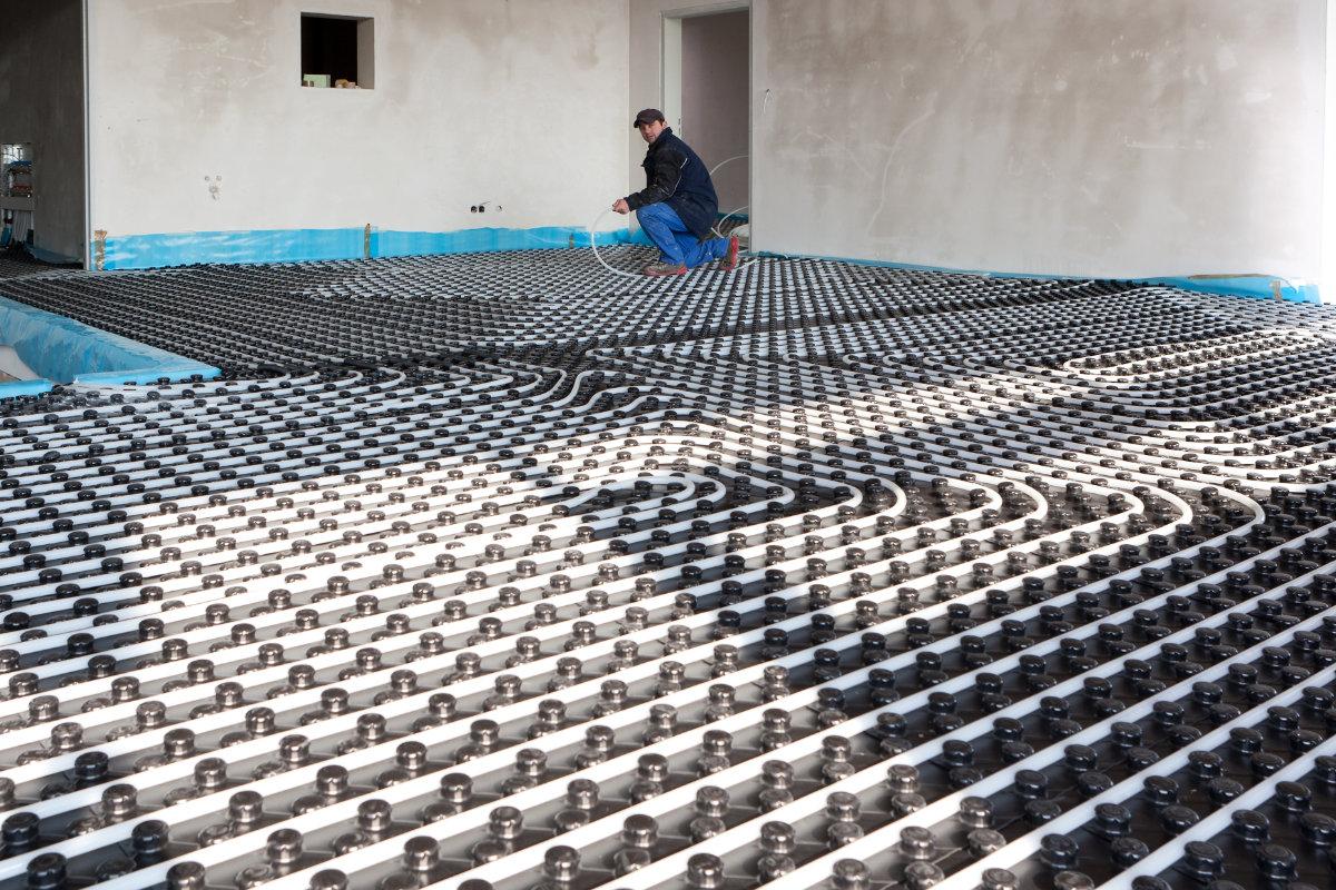 chauffage sol renovation