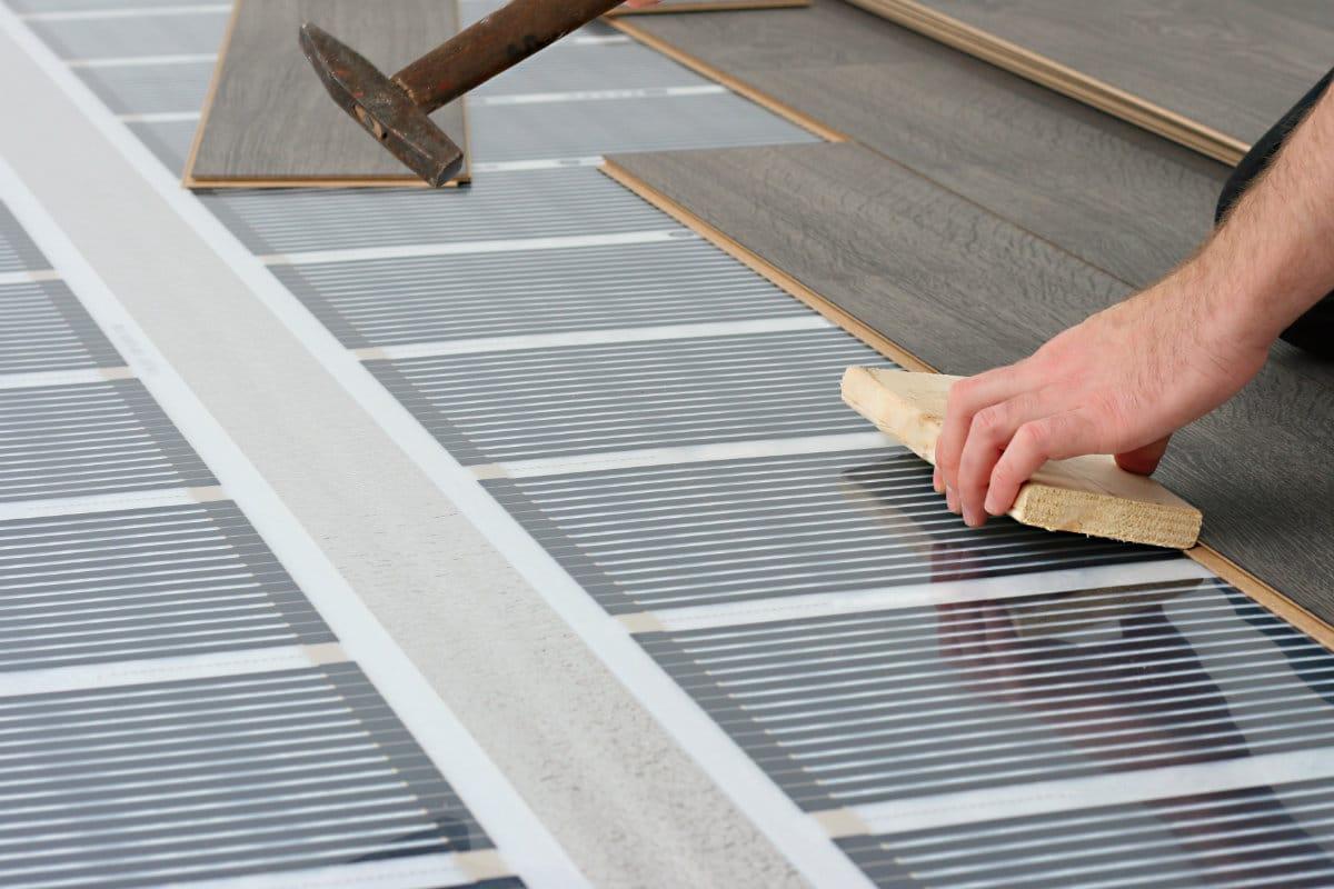 plancher chauffant électrique: prix, avantages & inconvénients